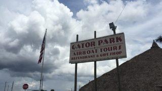 エバーグレーズ国立公園のGator Parkでエアボート初体験
