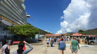 ジュエリー天国のシャーロット・アマリー@セント・トーマス島に寄港